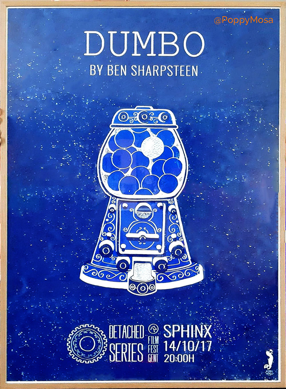 Screenprinted movie poster series